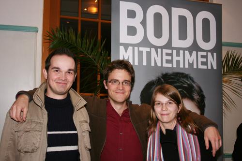 Wir mit Bodo Wartke